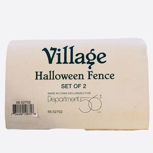 Dept. 56 Village- Halloween Fence